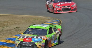NASCAR Sprint Cup Series: Kyle Busch vence em Sonoma