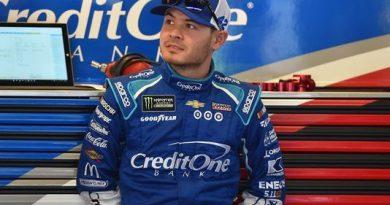 NASCAR Monster Energy Cup Series: Chuva cancela treino em Bristol, e Kyle Larson alinha na pole