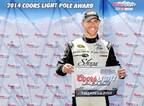 NASCAR Sprint Cup Series: Scott Larson surpreende e marca a pole em Talladega