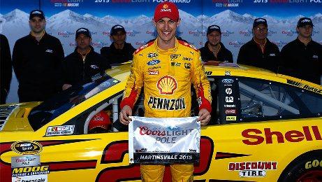 NASCAR Sprint Cup Series: Joey Logano marca a pole em Martinsville