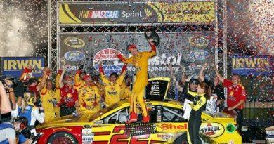 NASCAR Sprint Cup Series: Joey Logano vence em Bristol