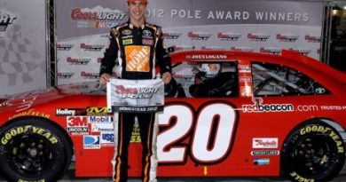 NASCAR Sprint Cup: Joey Logano marca a pole em Homestead
