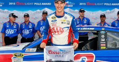 NASCAR Sprint Cup Series: Joey Logano marca a pole no Kansas