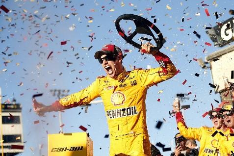 NASCAR Sprint Cup Series: Joey Logano vence em Phoenix