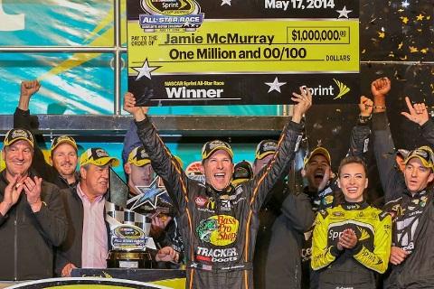 NASCAR Sprint Cup Series: Jamie McMurray vence o All-Star Race