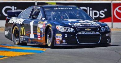 NASCAR Sprint Cup Series: Jamie McMurray marca a pole em Sonoma