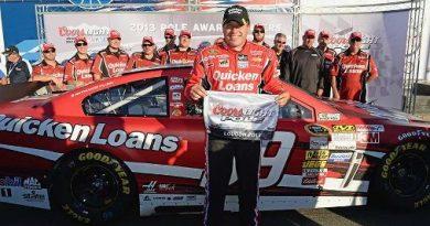NASCAR Sprint Cup Series: Ryan Newman marca a pole em New Hampshire