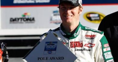 NASCAR Sprint Cup Series: Dale Earnhardt Jr. marca a pole para as 500 Milhas de Daytona