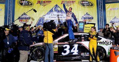 NASCAR Sprint Cup Series: David Ragan vence em Talladega