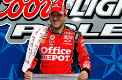 NASCAR Sprint Cup Series: Tony Stewart marca a pole-position no Texas