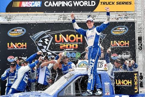 NASCAR Truck Series: Brad Keselowski vence pela primeira vez