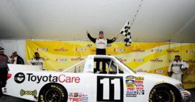 NASCAR Truck Series: Chuva encurta prova em Dover. Todd Bodine vence