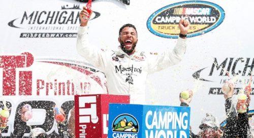 NASCAR Camping World Truck Series: Darrell Walace Jr. vence em Michigan