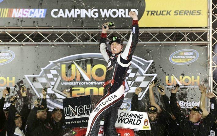 NASCAR Truck Series: Kyle Busch vence em Bristol