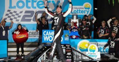 NASCAR Camping World Truck Series: Kyle Busch vence em Charlotte