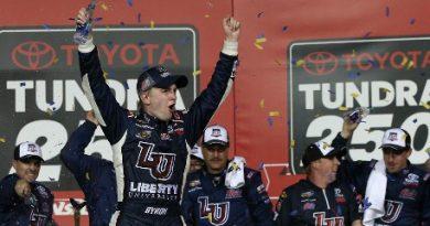 NASCAR Truck Series: William Byron vence pela primeira vez