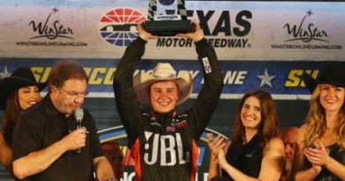NASCAR Truck Series: Christopher Bell vence no Texas