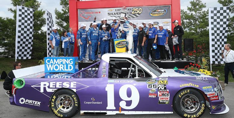 NASCAR Camping World Truck Series: Austin Cindric vence em Mosport
