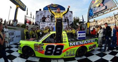 NASCAR Truck Series: Matt Crafton vence em Dover