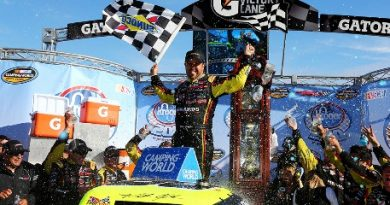 NASCAR Truck Series: Matt Crafton vence em Martinsville