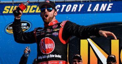 NASCAR Truck Series: Austin Dillon vence em New Hampshire