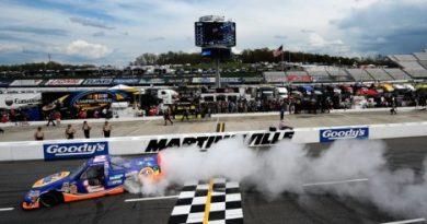 NASCAR Truck Series: Kevin Harvick domina em Martinsville