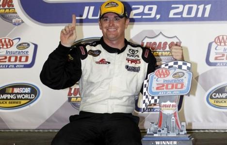 NASCAR Truck Series: Timothy Peters vence no Lucas Oil Raceway