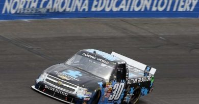 NASCAR Truck Series: Kyle Larson vence em Rockingham