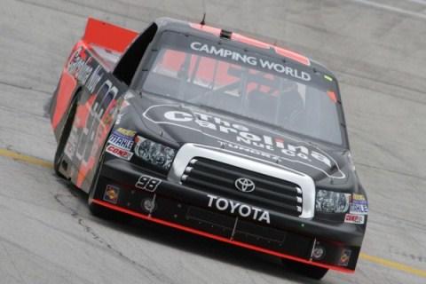 NASCAR Truck Series: Johny Sauter vence em final acidentado em Talladega