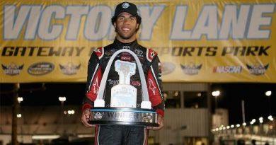 NASCAR Truck Series: Darrell Wallace Jr vence no Gateway Motorsports Park