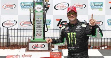 NASCAR XFINITY Series: Sam Hornish Jr. vence em Iowa