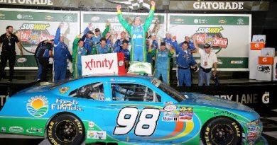 NASCAR XFINITY Series: Aric Almirola vence em Daytona