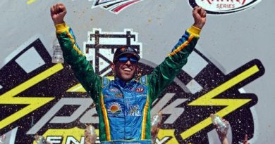 NASCAR XFINITY Series: Aric Almirola vence em Talladega