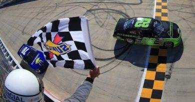 NASCAR XFINITY Series: Ryan Blaney vence em Dover