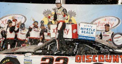 NASCAR XFINITY Series: Ryan Blaney vence em Kentucky