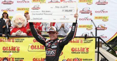 NASCAR XFINITY Series: Erik Jones vence em Dover