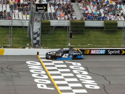 NASCAR XFINITY Series: Kyle Larson vence prova encurtada pela chuva em Pocono