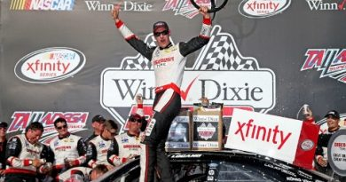 NASCAR XFINITY Series: Joey Logano vence em Talladega