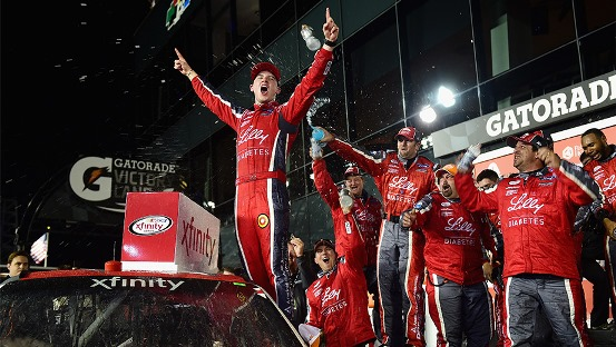 NASCAR XFINITY Series: Ryan Reed vence prova cheia de acidentes em Daytona