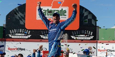 NASCAR XFINITY Series Elliot Sadler vence em Darlington