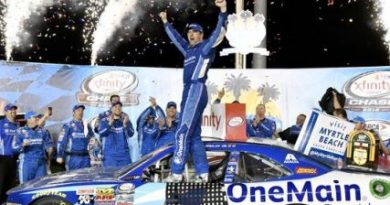 NASCAR XFINITY Series: Ellliot Sadler vence primeira prova do Chase