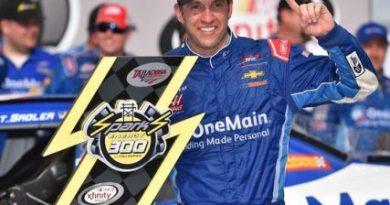 NASCAR XFINITY Series: Em final caótico, Elliot Sadler vence em Talladega