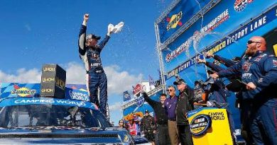 NASCAR Truck Series: William Byron vence em New Hampshire