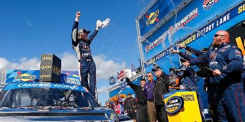 NASCAR Truck Series: William Byron vence em New Hampshire