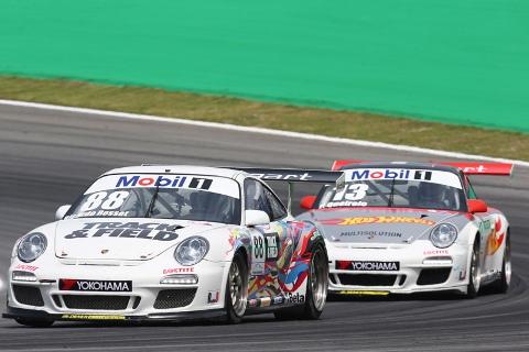 Porsche Cup: Ricardo Baptista vence em Interlagos, mas título fica com Ricardo Rosset