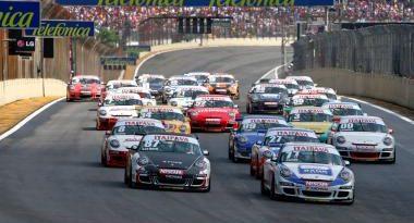 Porsche GT3 Cup: preliminar do GP do Brasil vê a primeira vitória de Leo Burti