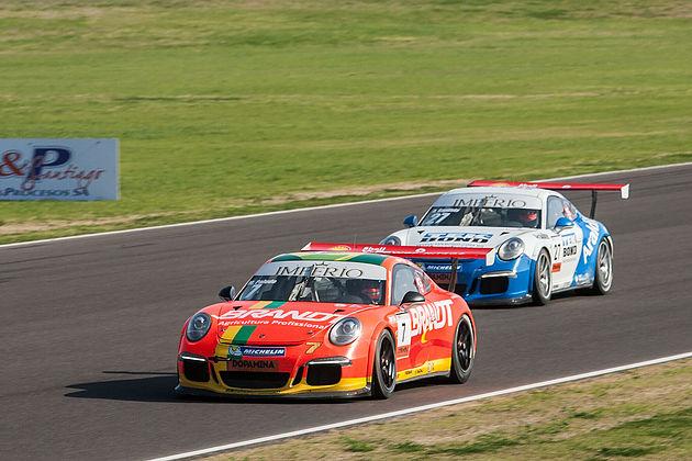Porsche GT3 Cup: Baptista, Neugebauer, Müller e Khouri vencem em Termas de Río Hondo