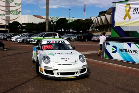 Porsche GT3 Cup: Cascavel já recebe os carros para etapa do dia 23