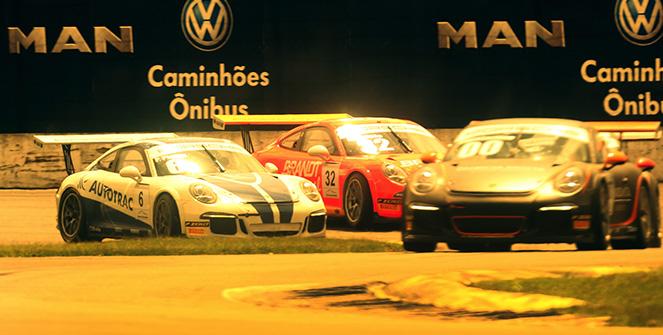 Porsche GT3 Cup: Constantino Jr e Miguel Paludo brilham na abertura em Curitiba