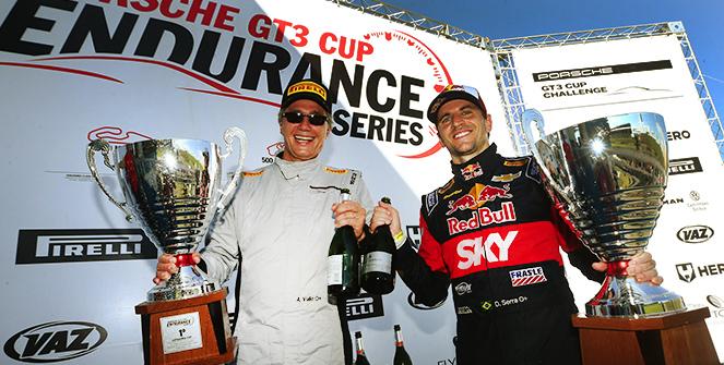 Porsche GT3 Cup Challenge: Tom Valle e Daniel Serra vencem 300 km de Goiânia com o Porsche #99